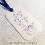24 Calligraphy Swirls Customised Gi..